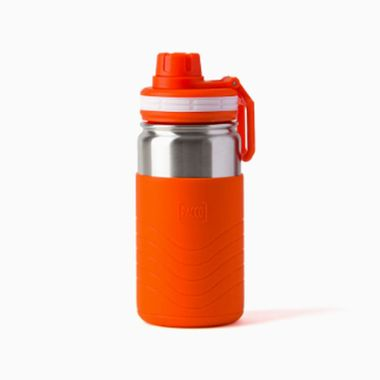 Garrafa-Termica-Hydra-Bottle-Kids-Pacco-350ml---Laranja