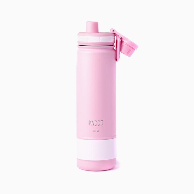 Garrafa-Termica-Hydra-Bottle-Pacco-650ml---Rose