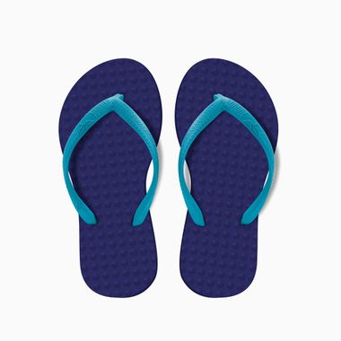 Sandalia-Infantil-Roxa-Turquesa-Green-Flip-Fops-28-29