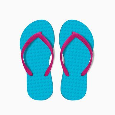 Sandalia-Infantil-Turquesa-Magenta-Green-Flip-Flops-28-29