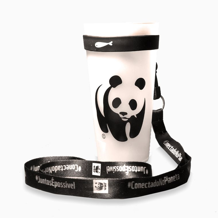 Kit-Copo-Eco-WWF-Reutilizavel---Porta-Copo-preto