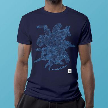 Camiseta-WWF-Conectado-no-Planeta-Regular---azul-P