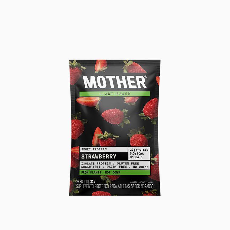 Suplemento-Sport-Protein-Morango-Sache-Mother