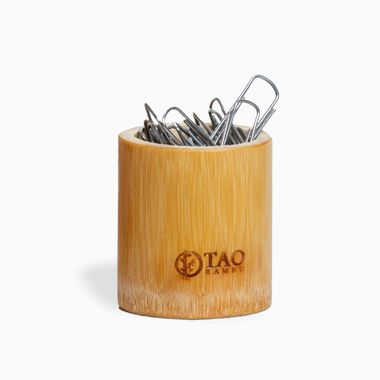 Porta-Objetos-de-Bambu-Curto