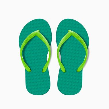 Sandalia-Infantil-Esmeralda-Limao-Green-Flip-Flops-28-29